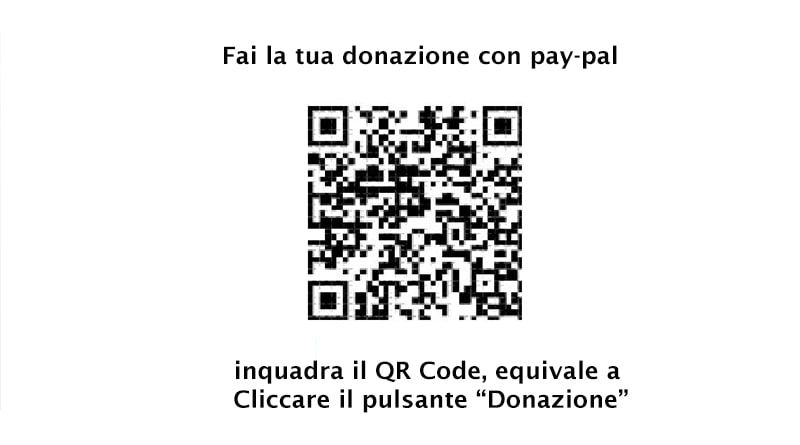 qcode che si collega alla pagina donazione