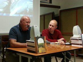 presentazione del libro 140000 passi sulla via francigena di giuliano mari 1