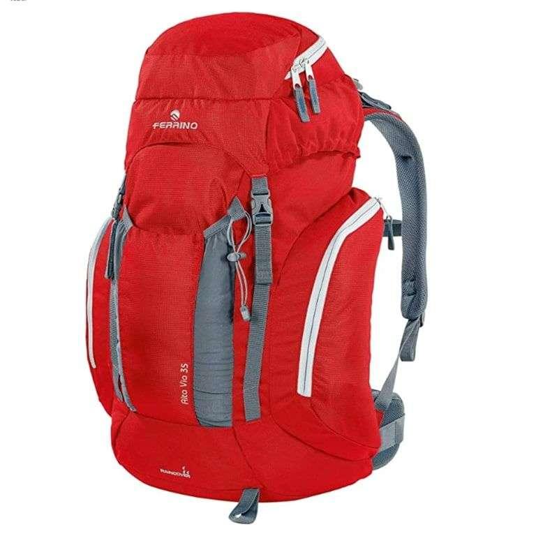 Zaino Ferrino Alta Via Zaino da Hiking Unisex Rosso 35 Litri