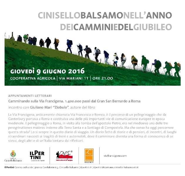 Via Francigena a Cinisello Balsamo