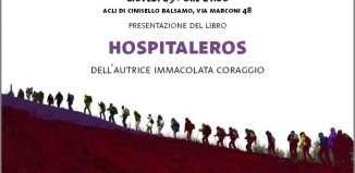 immaggine della locandina hospitaleros, libro di immacolata coraggio