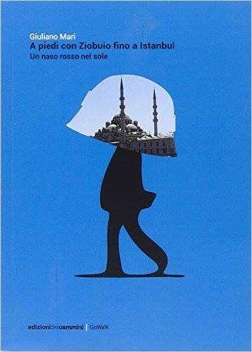 copertina del libro: a piedi con ziobuio fino a Istambul