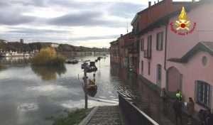deviazione percorso zona Pavia