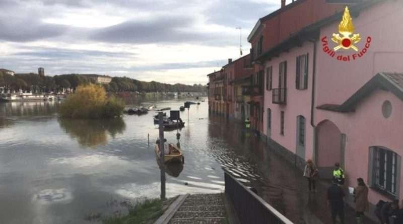Deviazione percorso zona Pavia Via Francigena